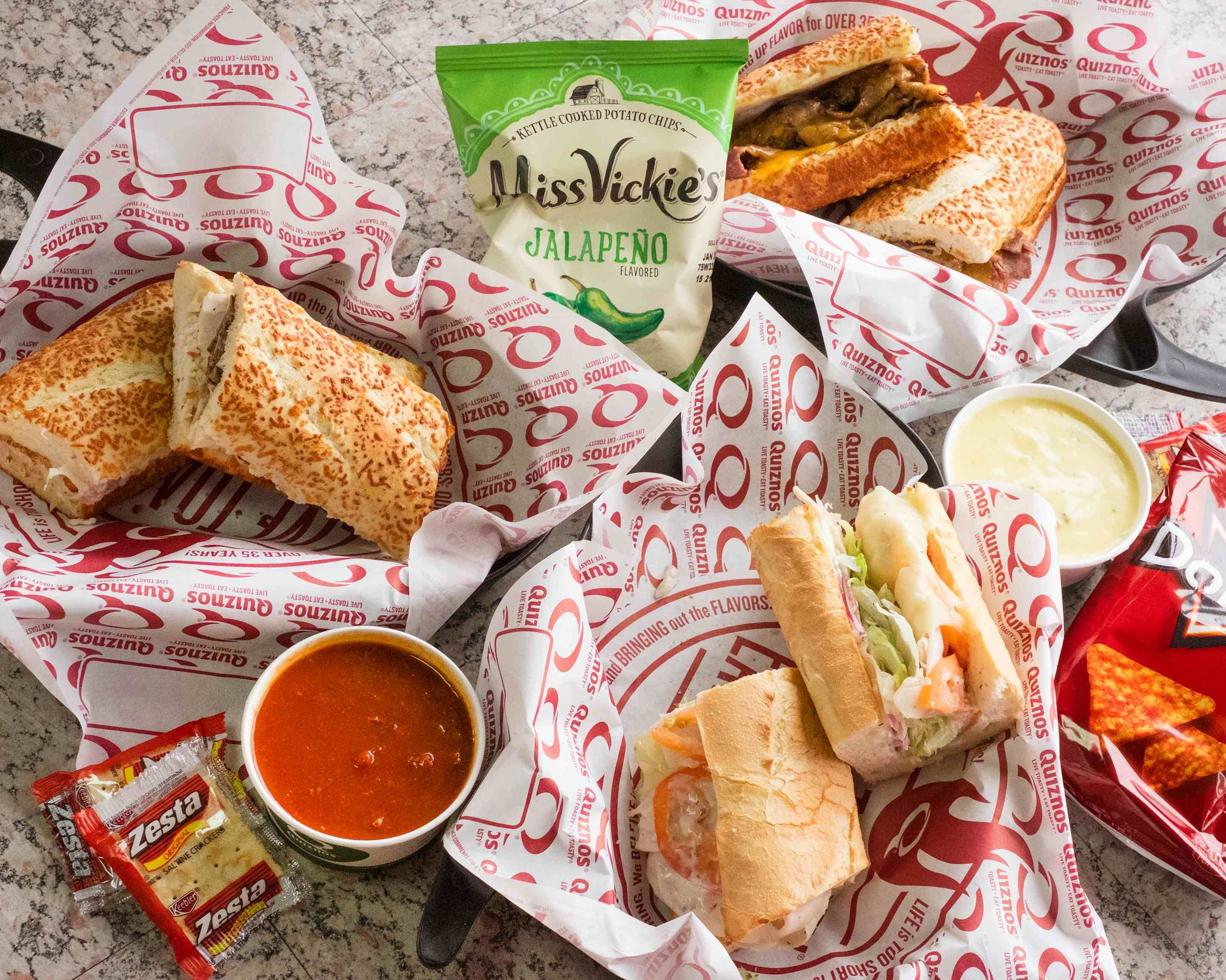 Quiznos Downtown Seattle Delivery Seattle Uber Eats