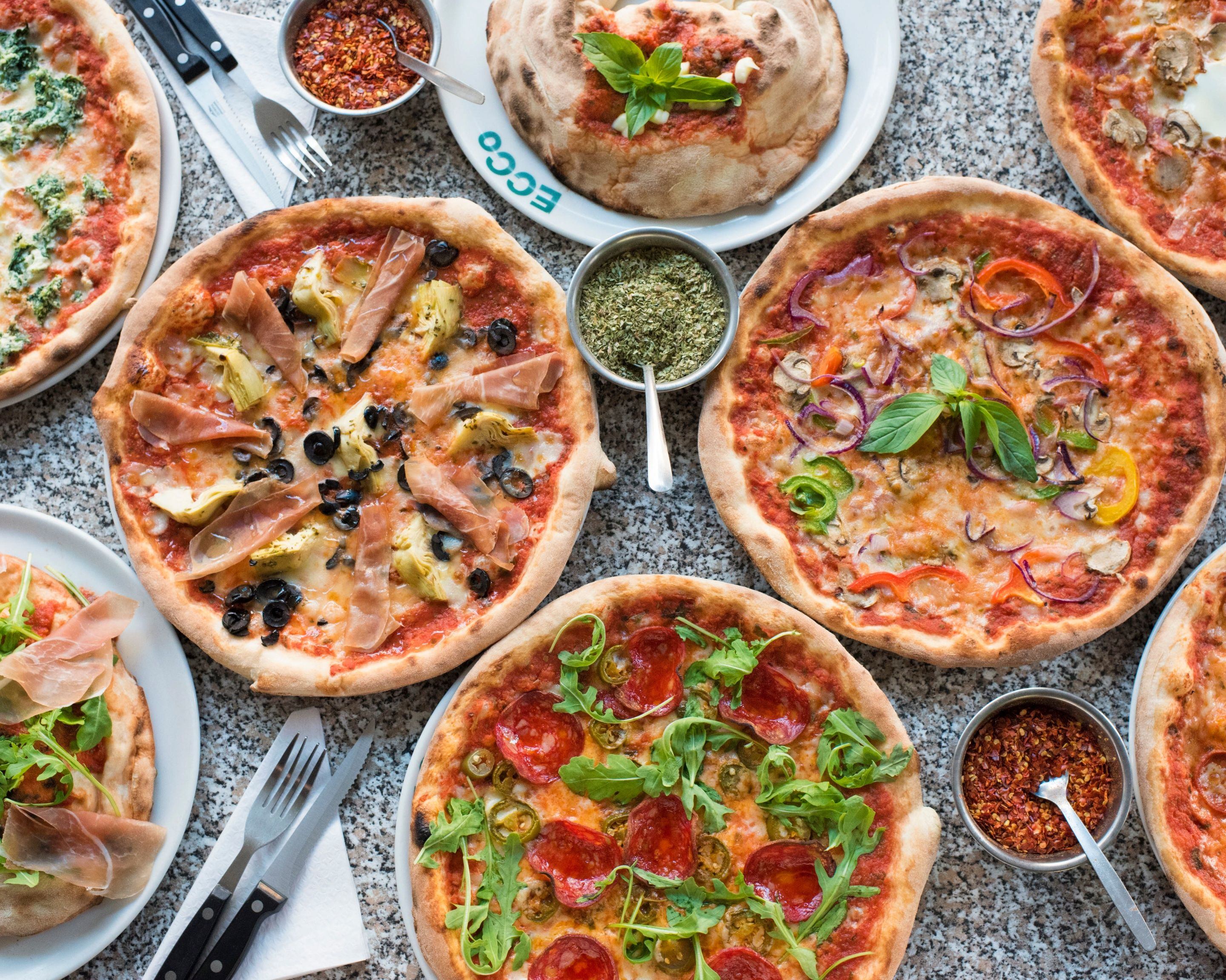 Ecco Pizza Delivery London Uber Eats