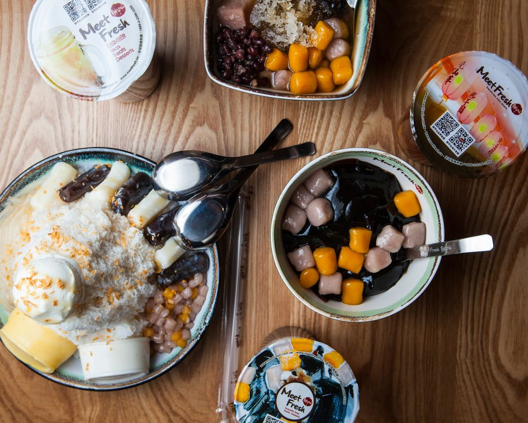 Shaved Ice and Sweet Soups at Meet Fresh in Causeway Bay, Hong Kong