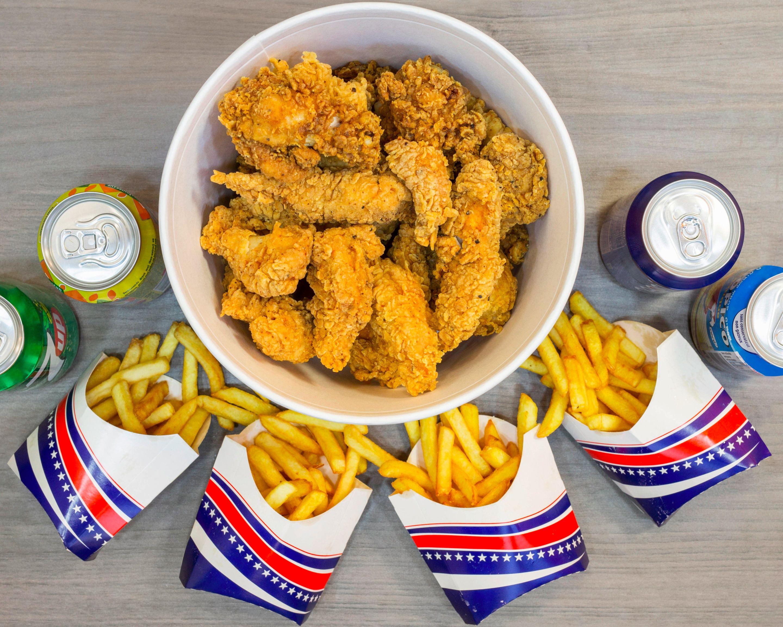 Bucket mix from Best Fried Chicken