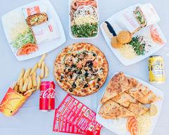 Melek Kebab Pizza