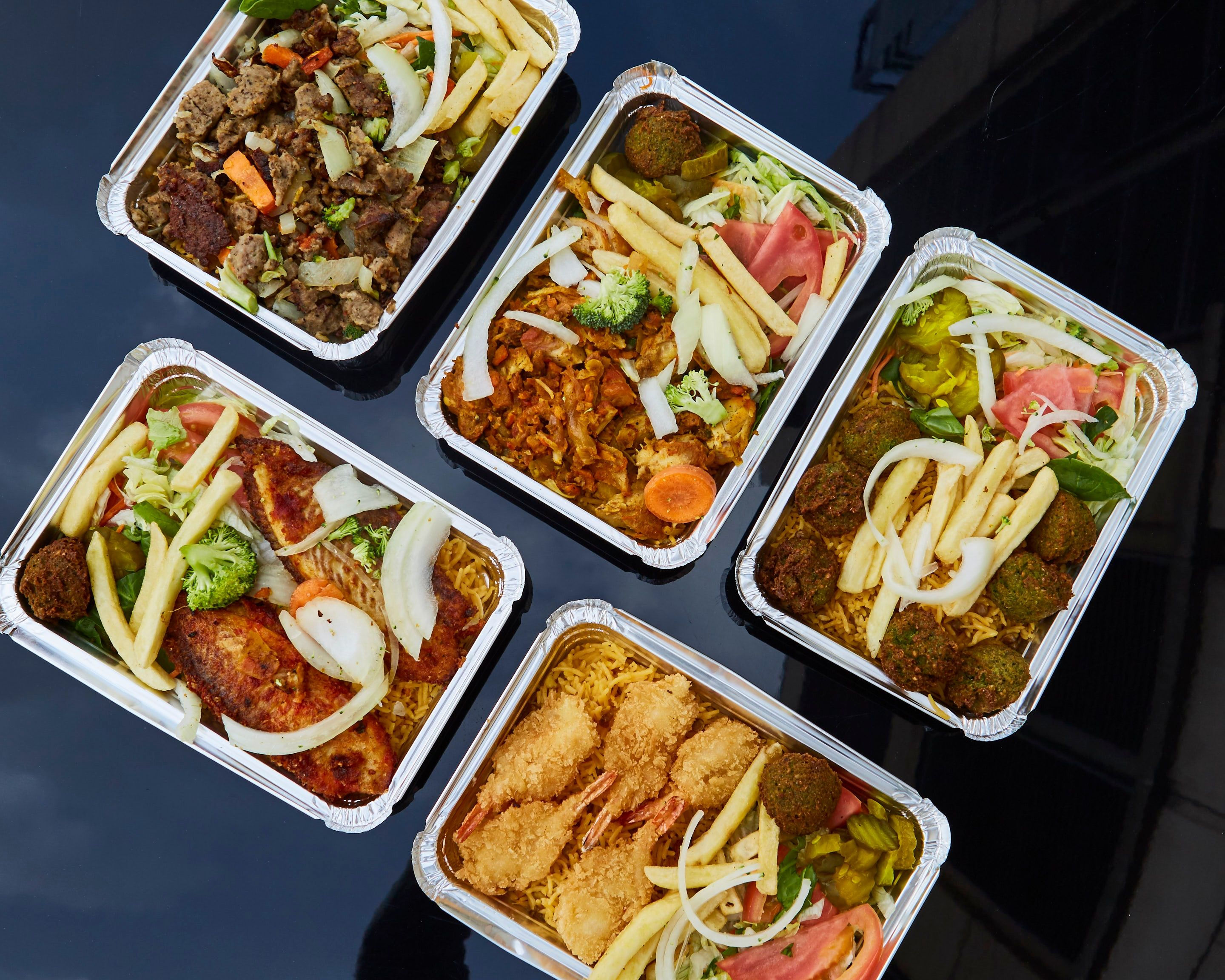 Order King Cab Halal Food 36th St Delivery Online New York City Menu Prices Uber Eats