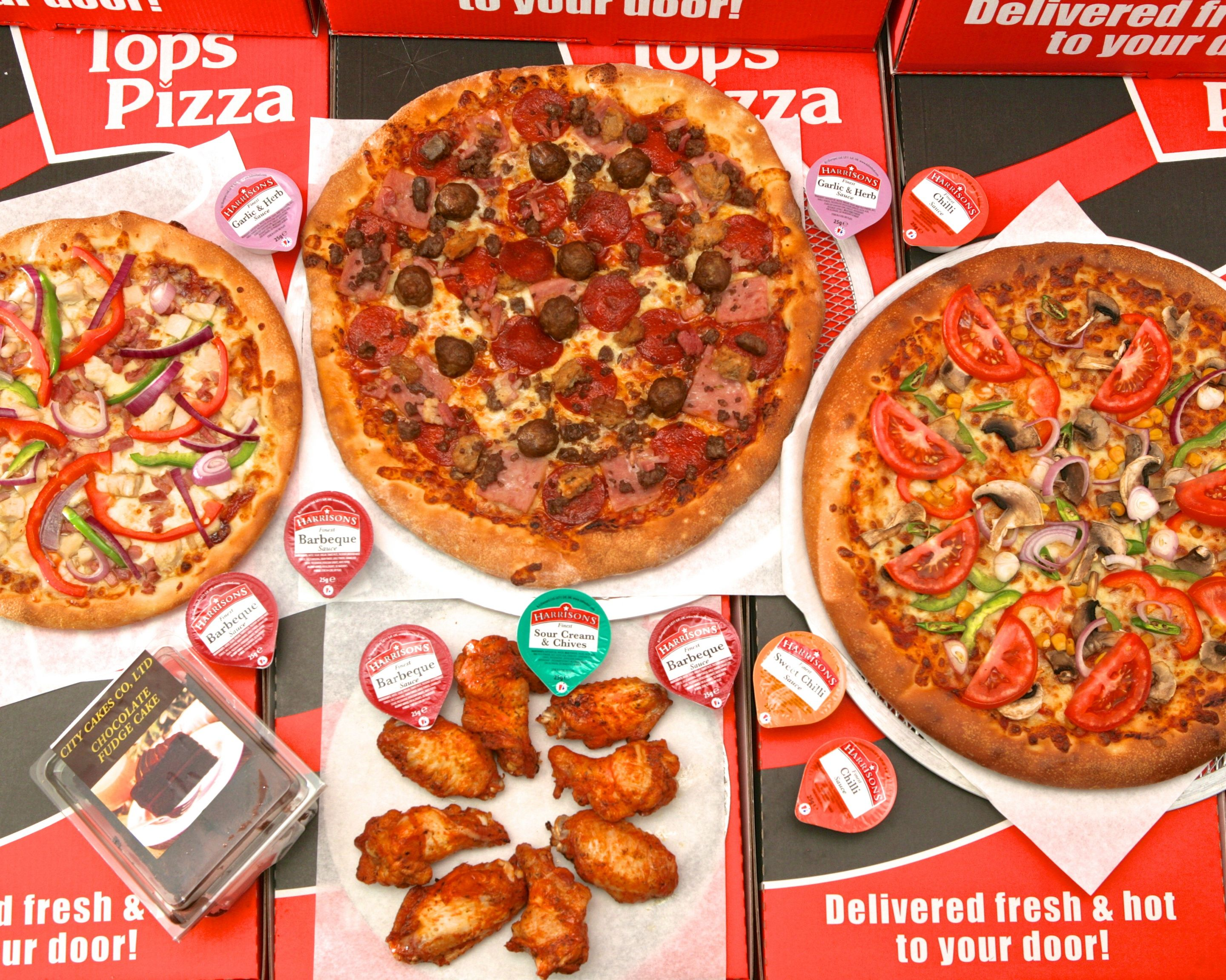 Tops Pizza Rayners Lane Delivery Pinner Uber Eats
