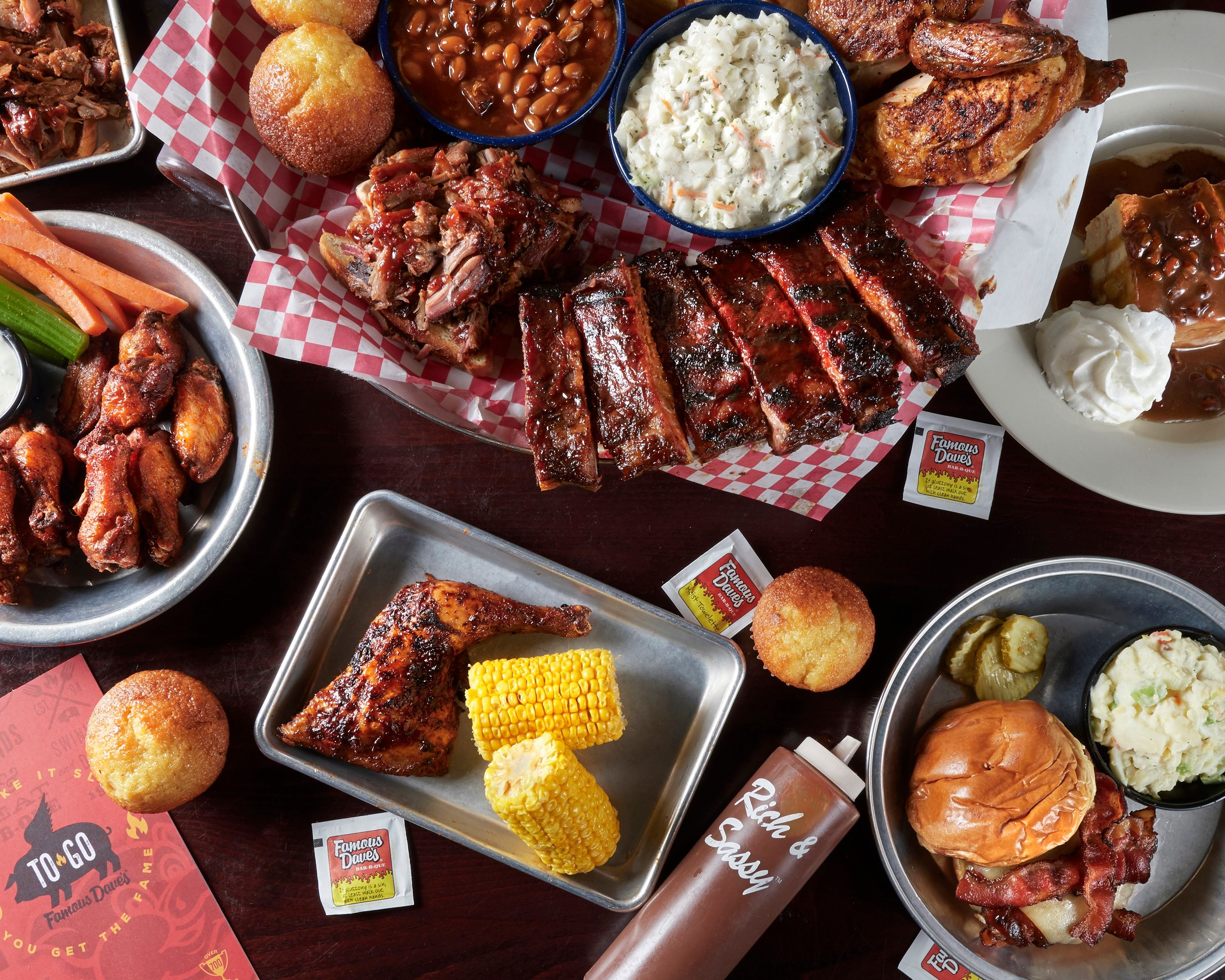 Famous Daves (12148 South Cleveland Ave)