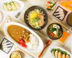 【カレーつけ麺と和牛もつカレー】 CURRY&BAR 2531