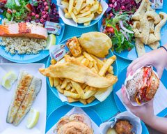 Theo's Fish Bar Gluten Free Fish & Chips
