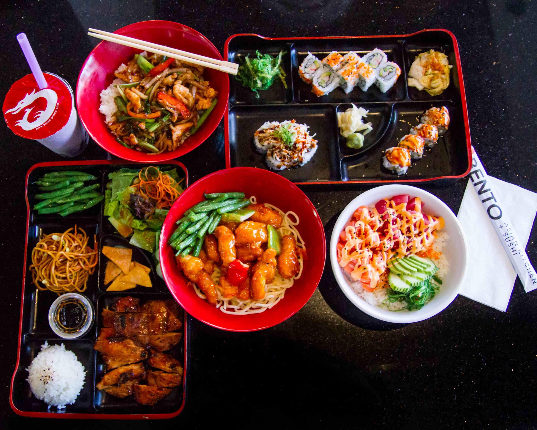 Bento Asian Kitchen Sushi Orange Ave Delivery Orlando
