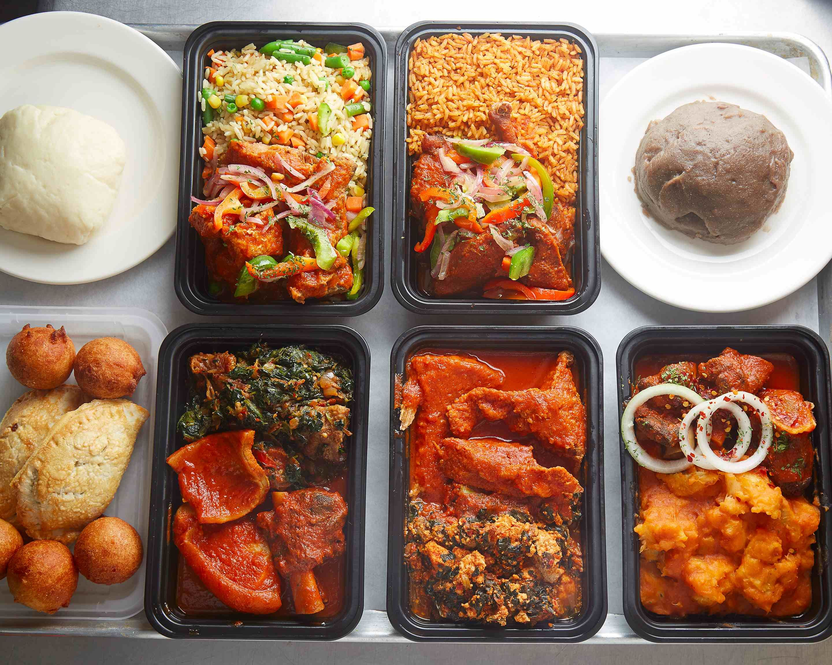 Df Nigerian Food Truck Midtown East Delivery New York