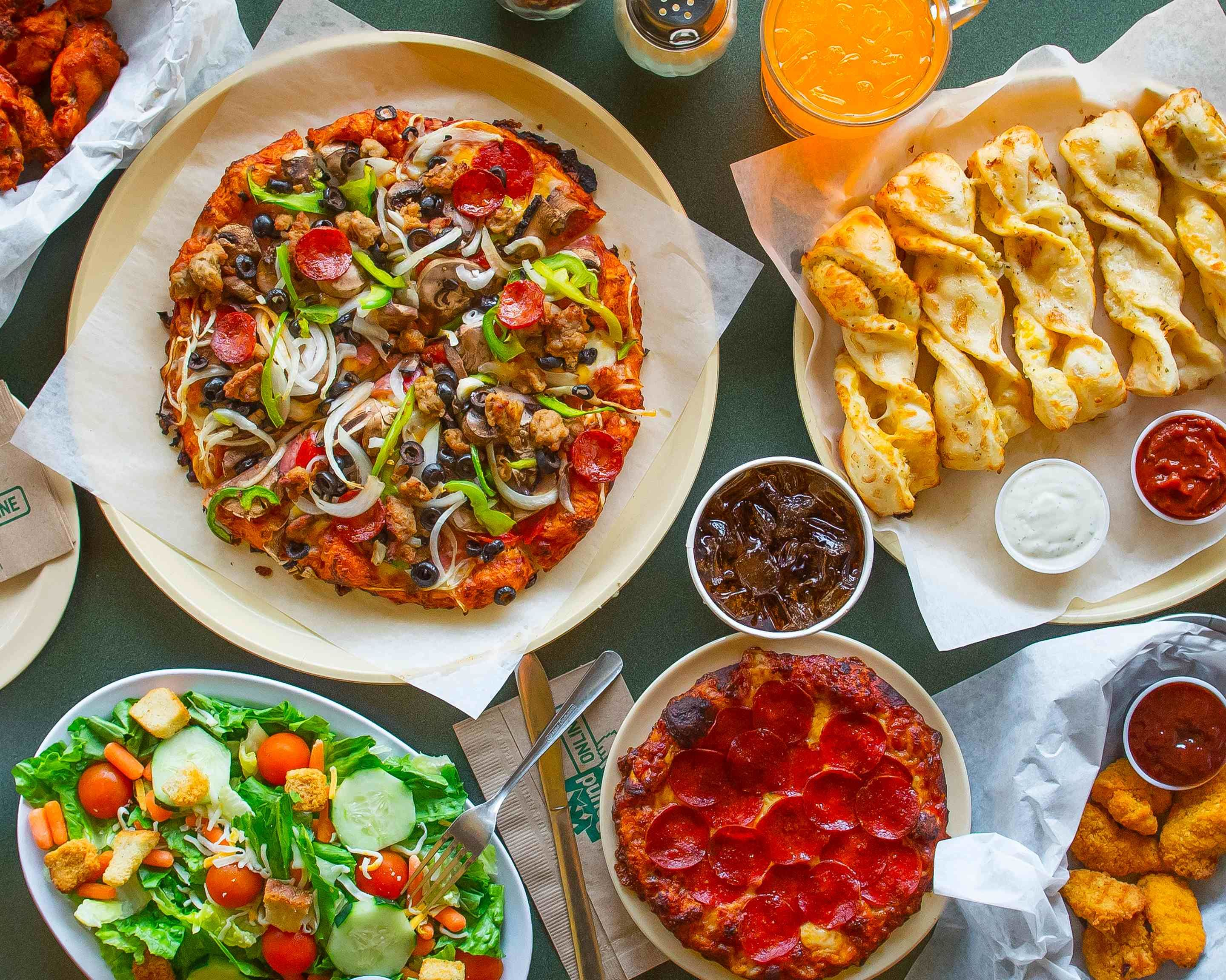 Round Table Pizza Long Beach Delivery Los Angeles Uber Eats