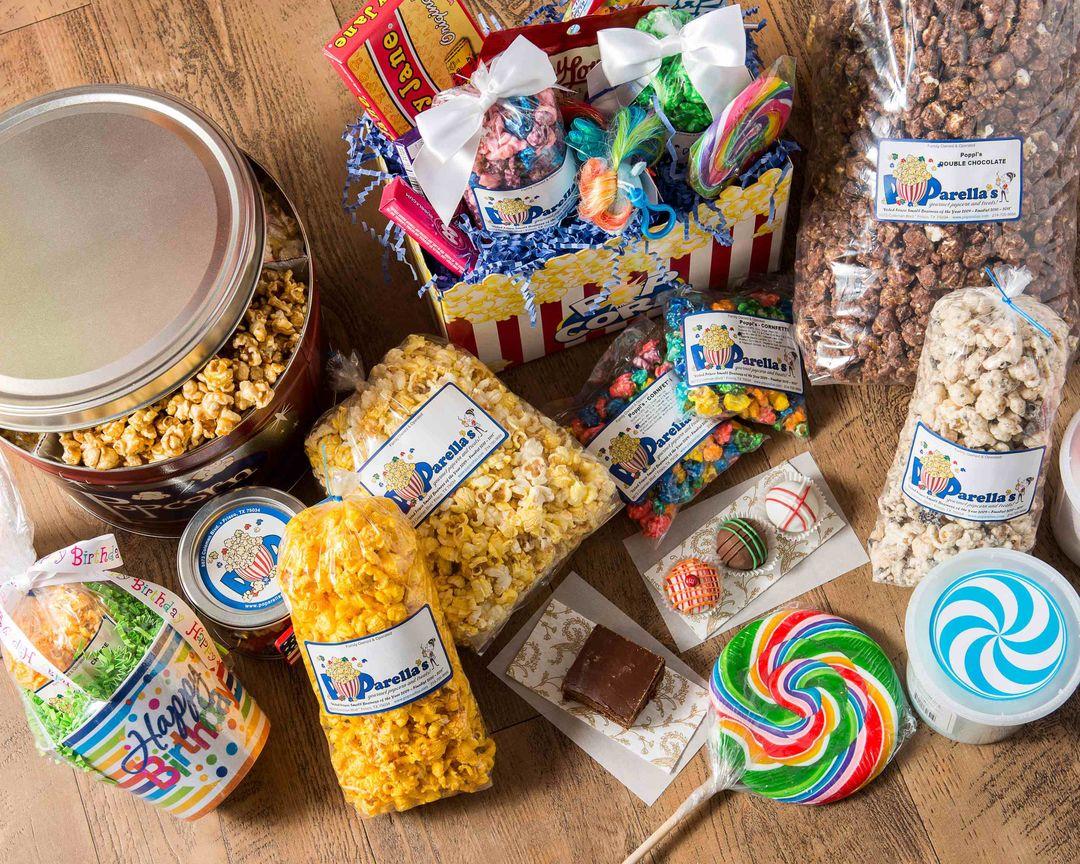 POParellas Gourmet Popcorn Treats Delivery