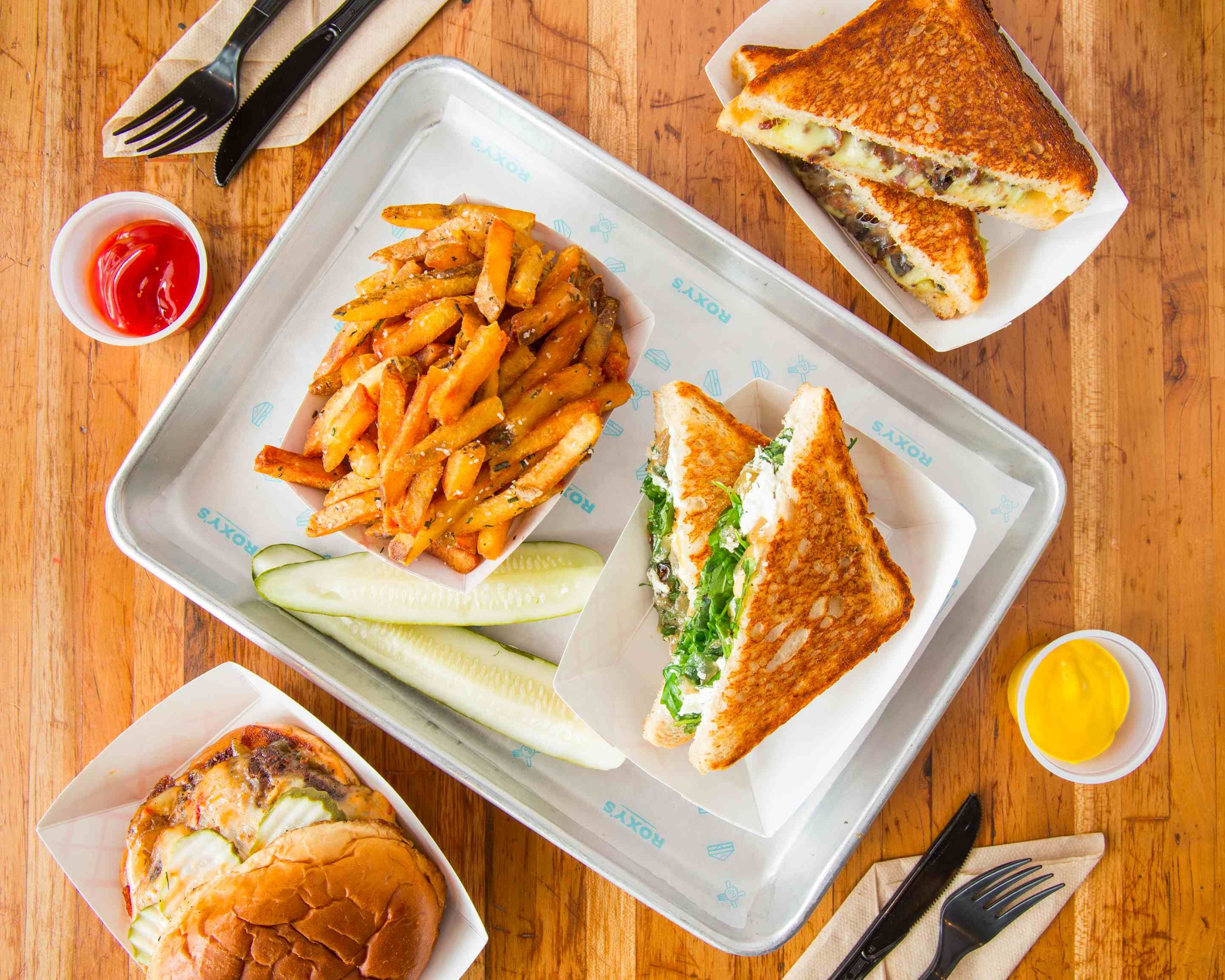 Roxy's Gourmet Grilled Cheese (Central Sq) Delivery   Cambridge
