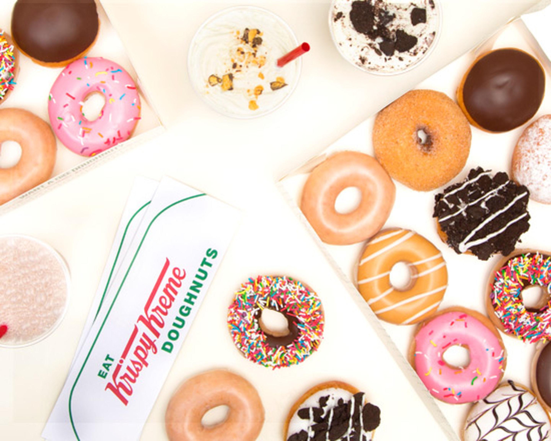 Krispy Kreme (Collins St & Spencer St) Delivery | Melbourne | Uber Eats