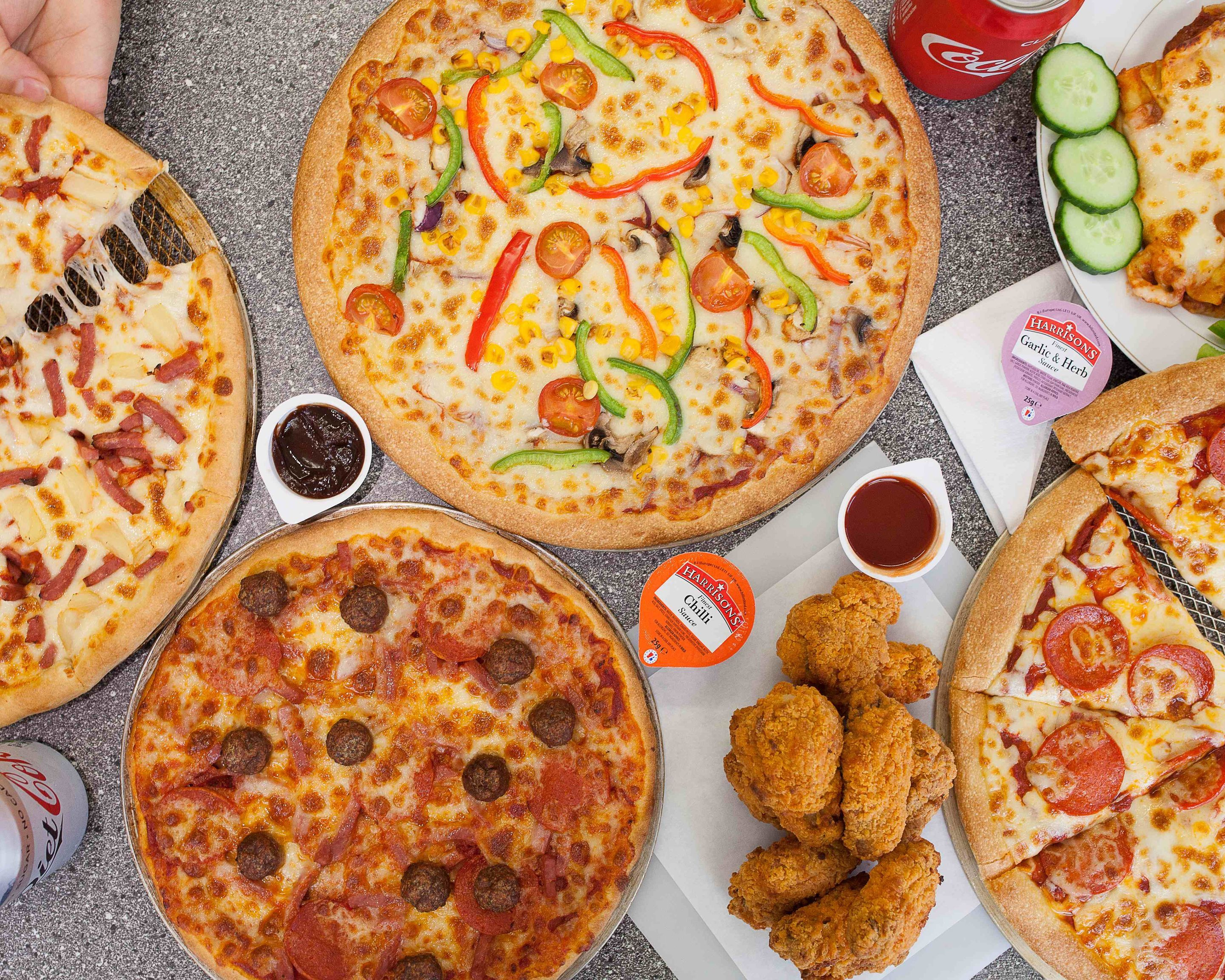 Deluxe Pizza Delivery London Uber Eats