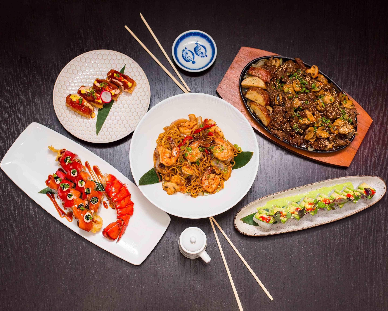 Hoshi Sushi Asian Cuisine Delivery Miami Uber Eats Breast Cream