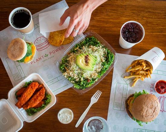 Livraison Plant Power Fast Food San Diego Uber Eats
