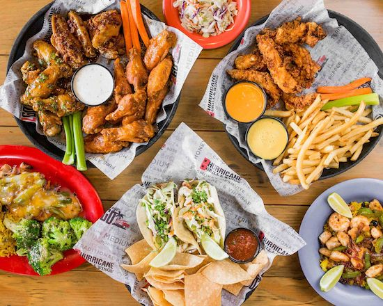 Hurricane Grill & Wings (1810-1 Town Center Blvd.)