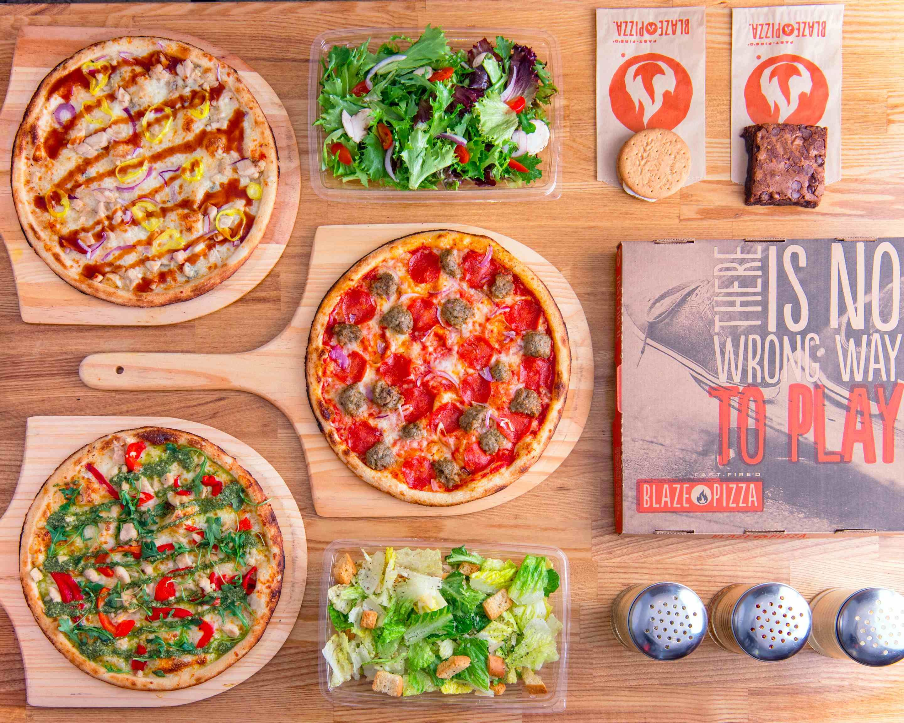 Blaze Pizza (2692 N. Greenwich Court)